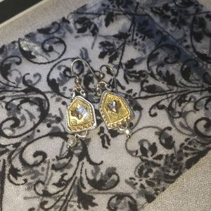 Brighton heart with wings house series earrings